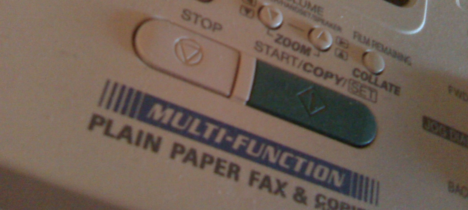 boring fax machine. Photo credit: Becky McCray, 2009, flickr, creative commons licence